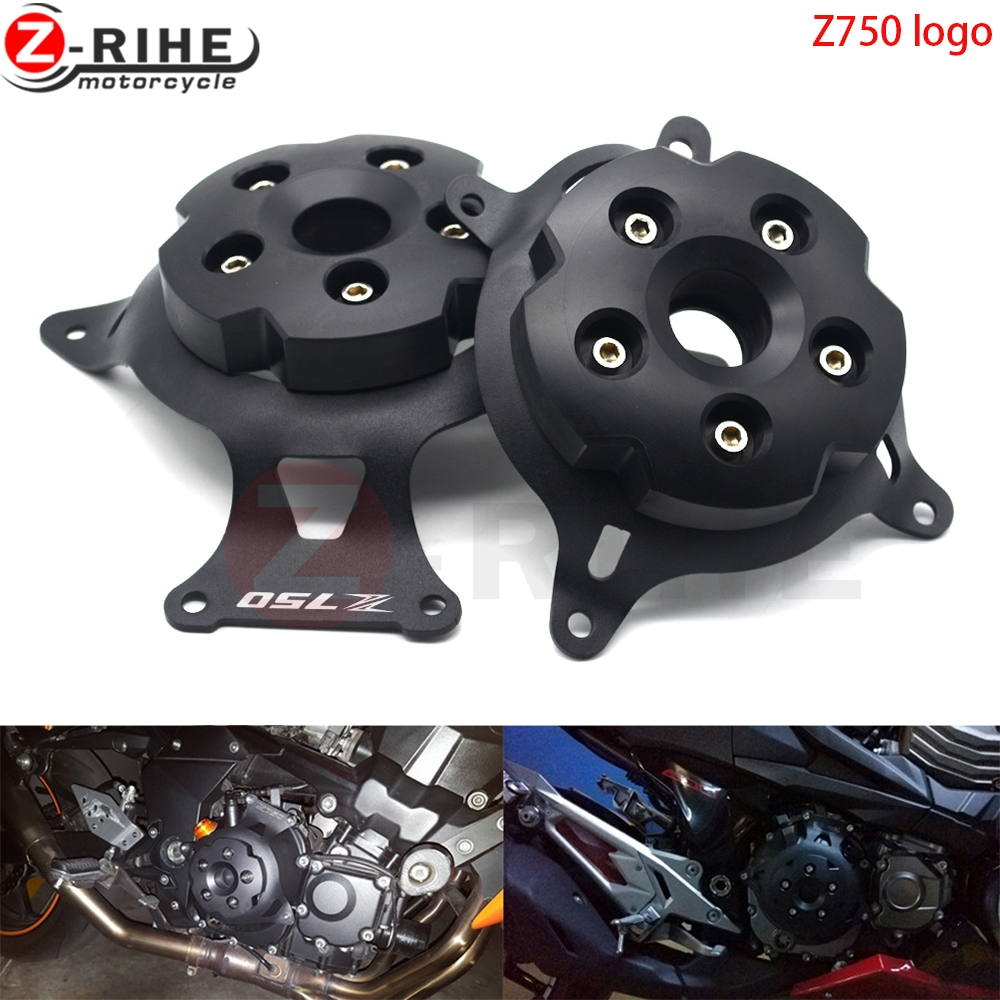 For Kawasaki Z750 Z800 Z 750 800 2013-2016 Motorcycle Accessories Engine Stator Guard Covers Engine Saver Case Cover Protector motorcycle cnc aluminum engine crankcase slider engine cover saver protection side shield for kawasaki z800 z750 2013 2016