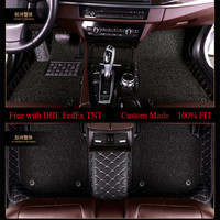 OLPAY автомобильные коврики для Ford Explorer F150 Escort Fiesta Mondeo Фокус Edge Телец S MAX двойной Слои подушечки