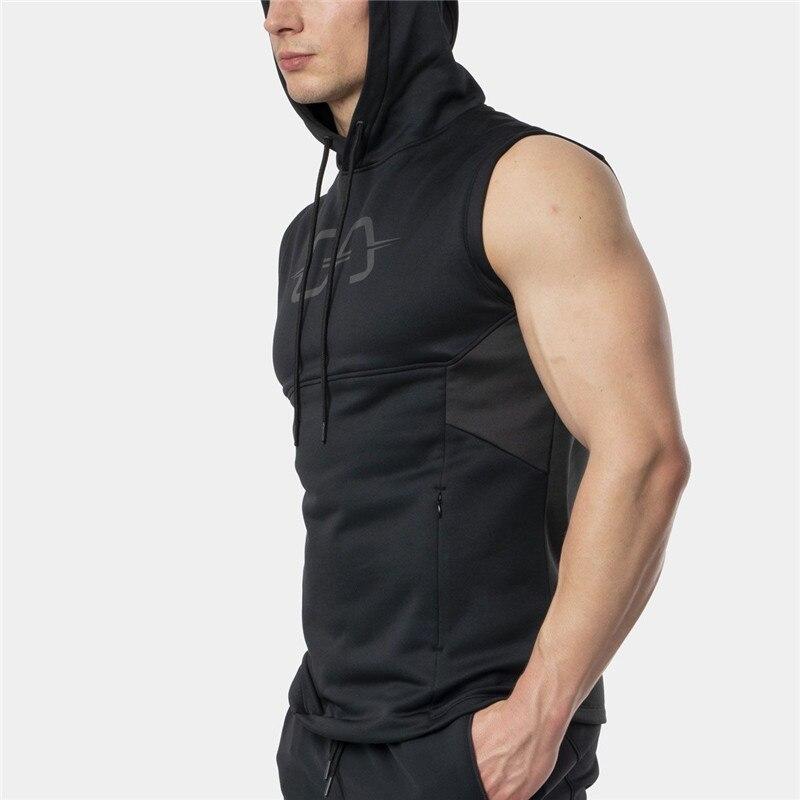 2019 Sommer Männer Der Marke Tank Top Hoodie Fitness Bodybuilding Muskel Cut Stringer Crossfit Workout Tank Top Active Männlichen Komplette Artikelauswahl