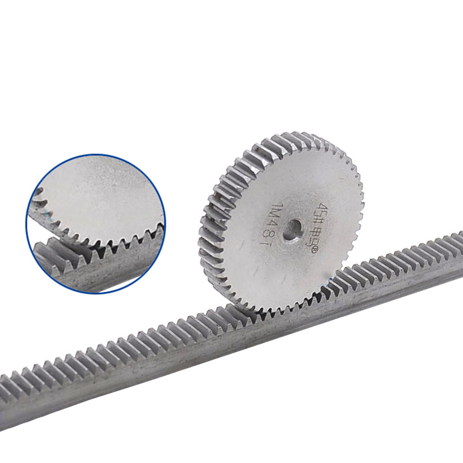 1Pcs 45# Steel Spur Gear 1Modulus 29-44 Teeth For Outer Diameter 31-46mm Shaft Reduction Gear