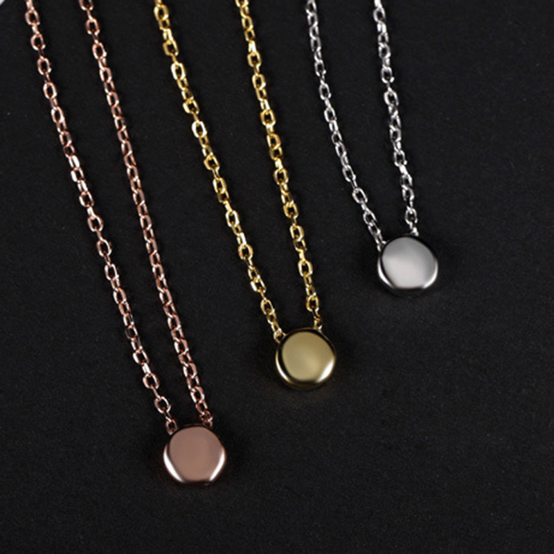 get cheap 24k solid gold necklace aliexpress