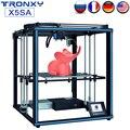 TRONXY Upgrade 24V X5SA X5SA-400 3d принтер Быстрая Сборка <font><b>DIY</b></font> Kit автоматическое выравнивание датчик накаливания, печать большого размера