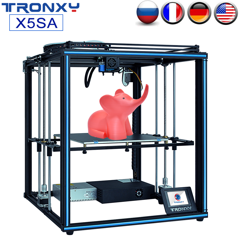 TRONXY Upgrade 24V X5SA X5SA-400 3D Printer Rapid Assembly DIY Kit Auto Leveling Filament Sensor Resume Print Larger Print Size image