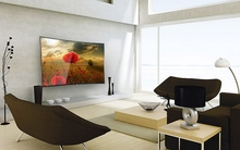 "40"" Touch Screen LED Smart TV with Wireless Mic"