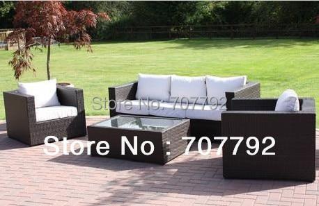 2016 venta caliente muebles de exterior barato antigua rattan sofa set al por mayorchina