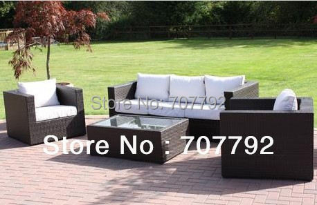 2017 Hot Sale Outdoor Furniture Cheap Antigua Rattan Sofa Set Wholesale