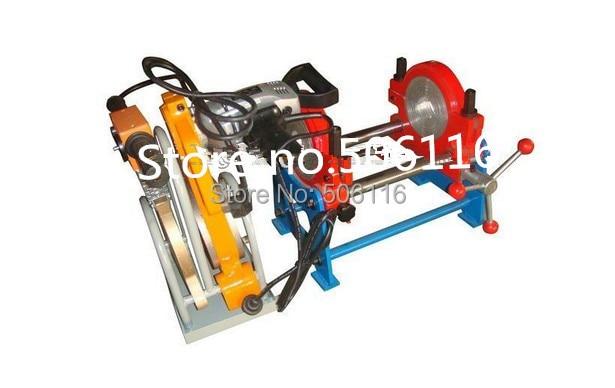 Livraison gratuite nouveau 63 MM-160 MM deux pinces HDPE Buttle Machine à souder tuyau Fusion Machine soudeuse