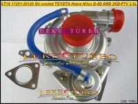 CT16 17201 30120 17201 300120 с масляным охлаждением Turbo Турбокомпрессор Для Toyota Hiace Hilux Привет Lux D 4D 4WD 2KD 2 kdftv 2KD FTV 2.5L 102HP