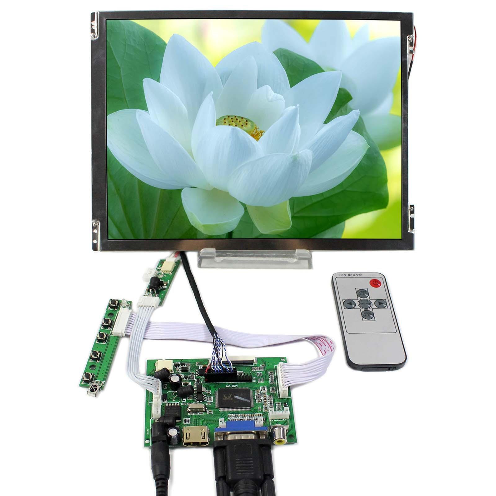 HDMI+VGA+2AV LCD Controller Board VS-TY2662-V1 With 10.4inch 800x600 TM104SDH01 LCD Screen цена и фото
