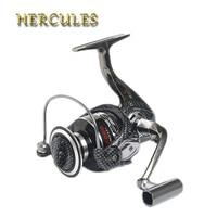 Hercules Carp Reels Spinning Spool Fishing Reel 12+1 Bearings Worm Shaft Sea Distant Wheel Carretilha De Pescaria Pesca Fly Reel