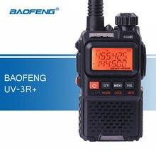 Baofeng UV-3R + Plus Talkie Walkie VHF/UHF Portable Talkie Walkie UV-3R TWO Way Radio avec Casque Émetteur-Récepteur De Poche Ham Radio