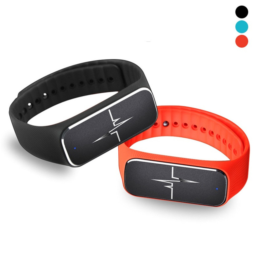 L18 Bluetooth Smart Bracelet Blood Heart Rate Moniter Wristband Passometer Sleep Fitness Tracker Smartband For iOS