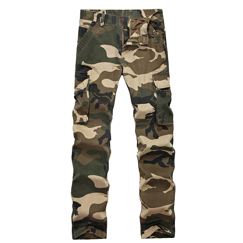 Cargo Pants Soft Shell Tactical Military Camouflage Pants Men Windproof Waterproof Warm Camo Paintball Army Cotton Pants WY6635