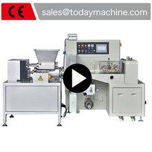 super light clay processing and wrapping machine