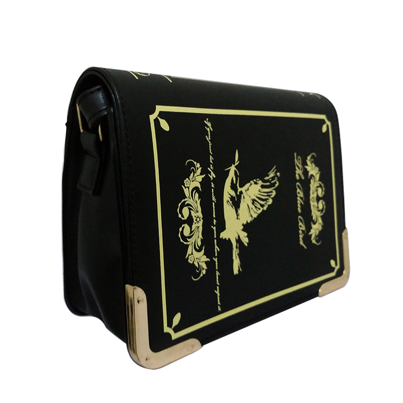 c4bf2cbd5d Book shaped lolita bag female gothic bag women messenger bags shoulder  crossbody bags for women sac femme bolsa feminina-in Crossbody Bags from  Luggage …