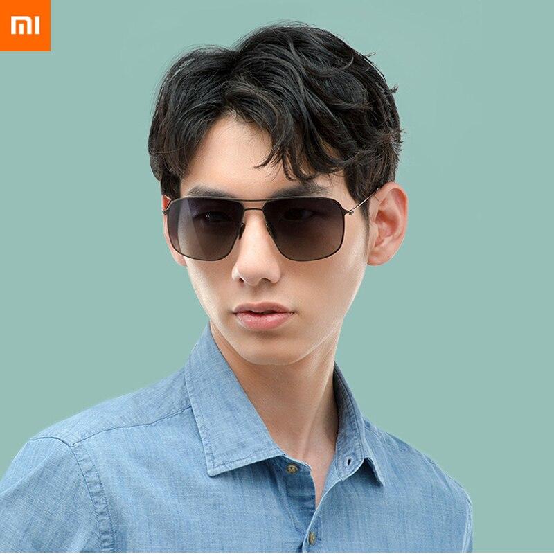 2019 new xiaomi mijia nylon Polarized Aviator Sunglasses pro UV400 Ultra thin Lightweight for Outdoor Travel