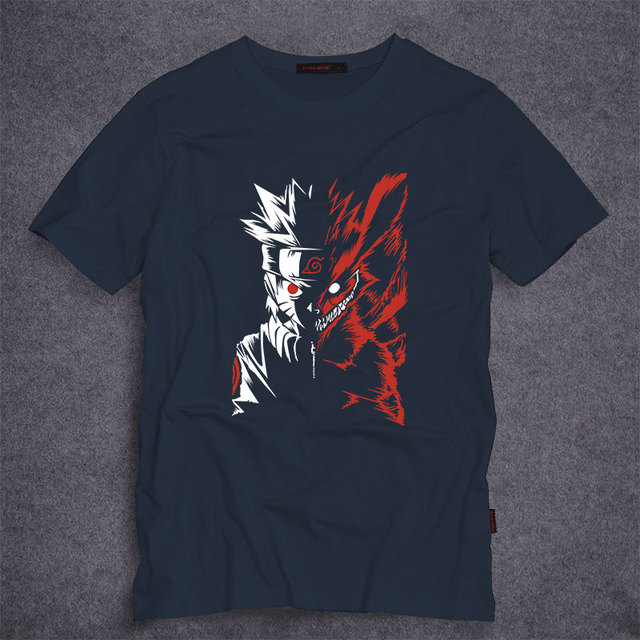 Naruto Uzumaki Printed T-Shirt in 13 Colors
