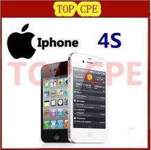 In sealed box Apple Iphone 4S Original iphone 4S GPS WIFI 3.5 Screen 16GB / 32GB / 64GB storage Dual Core Phone 1 year warranty