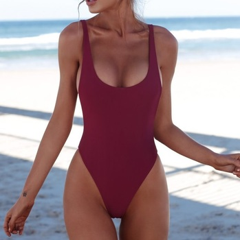 Classic High Cut One-Piece Swimsuit 3
