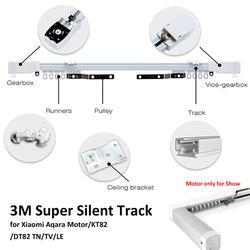 3 м Сяо mi Aqara держатели для штор, Zigbee Wi Fi работать с дома, умные ПДУ бесшумный трек, также для Dooya KT82/DT82 TN/ТВ/LE