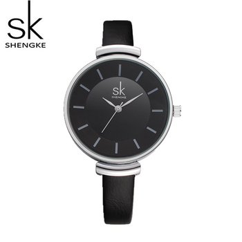 SK shengke Wrist Watch Top Brand Luxury Minimalist Watch Women Watches Small Leather Women's Watches Clock saat relogio feminino image