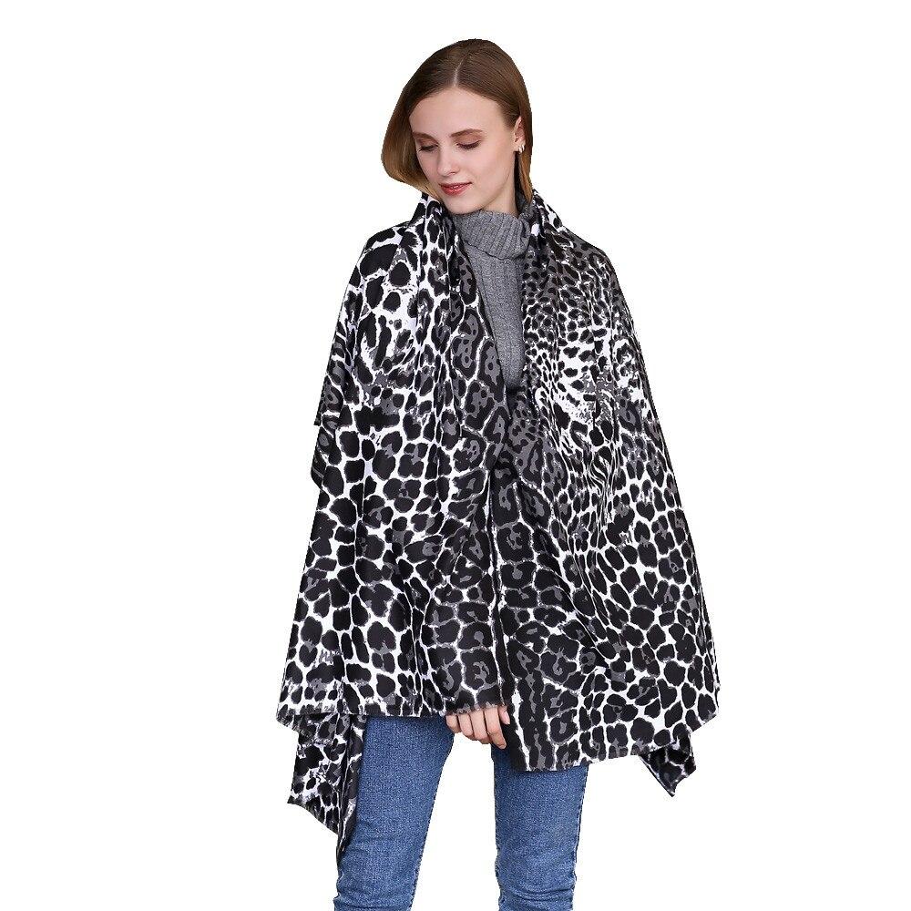 New Design Leopard Autumn Winter   Scarf   Women Fashion Long Soft Animal Leopard Print Shawl   Scarf     Wraps   Ladies Voile   Scarves