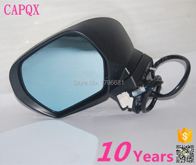 CAPQX Auto folding heating side mirror FOR HONDA 2009 2010 2011 2012 ...