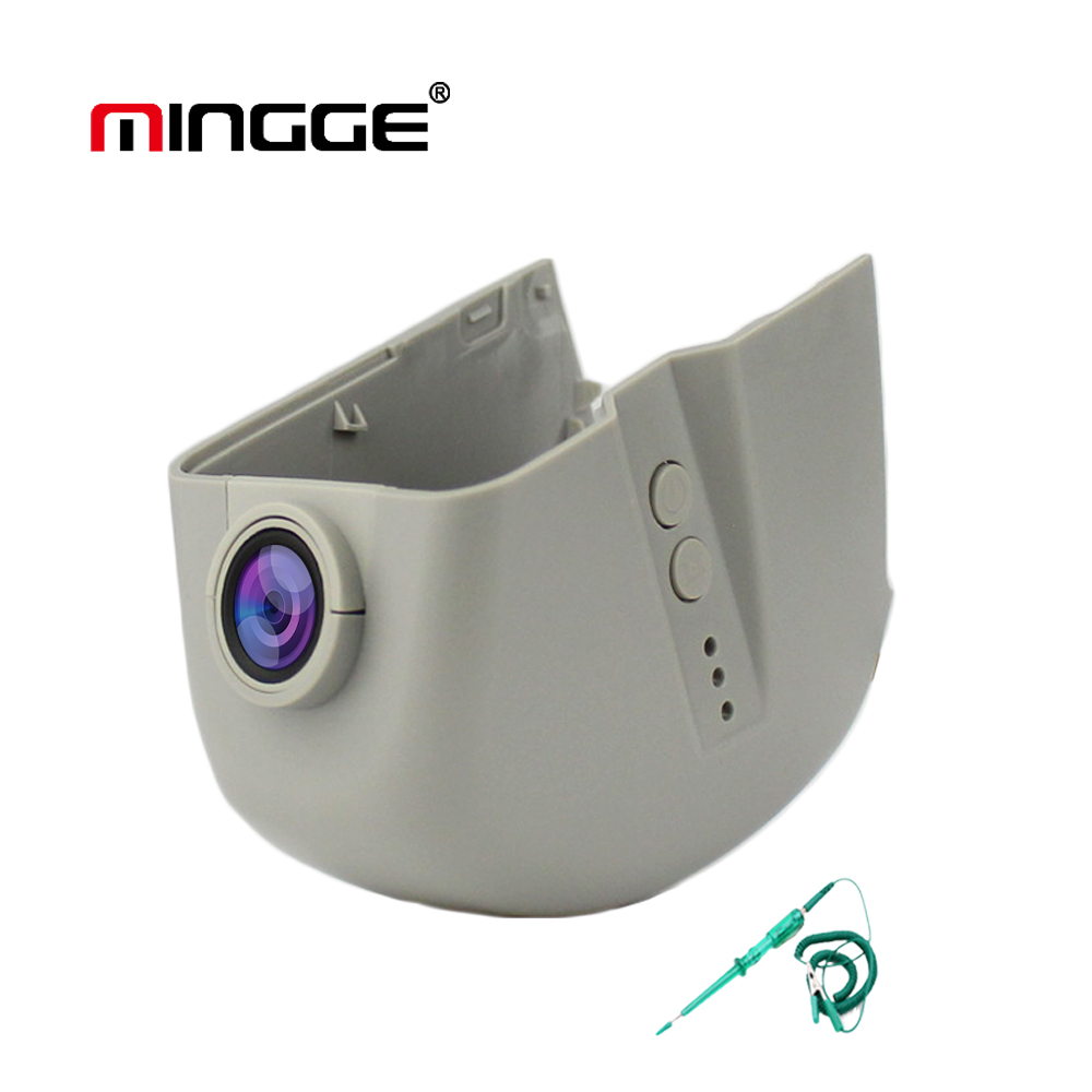 MINGGE WiFi Dash Cam for Audi A1 A3 A4 A5 A6 A7 A8 Q3 Q5 Q7 Car Camera DVR 1080P HD Digital Video Recorder Hidden Type bigbigroad for audi a3 a4 a4l a5 a6 q3 q5 q7 2016 2017 2018 car dvr video recorder wifi camera car black box dashcam fhd 1080p