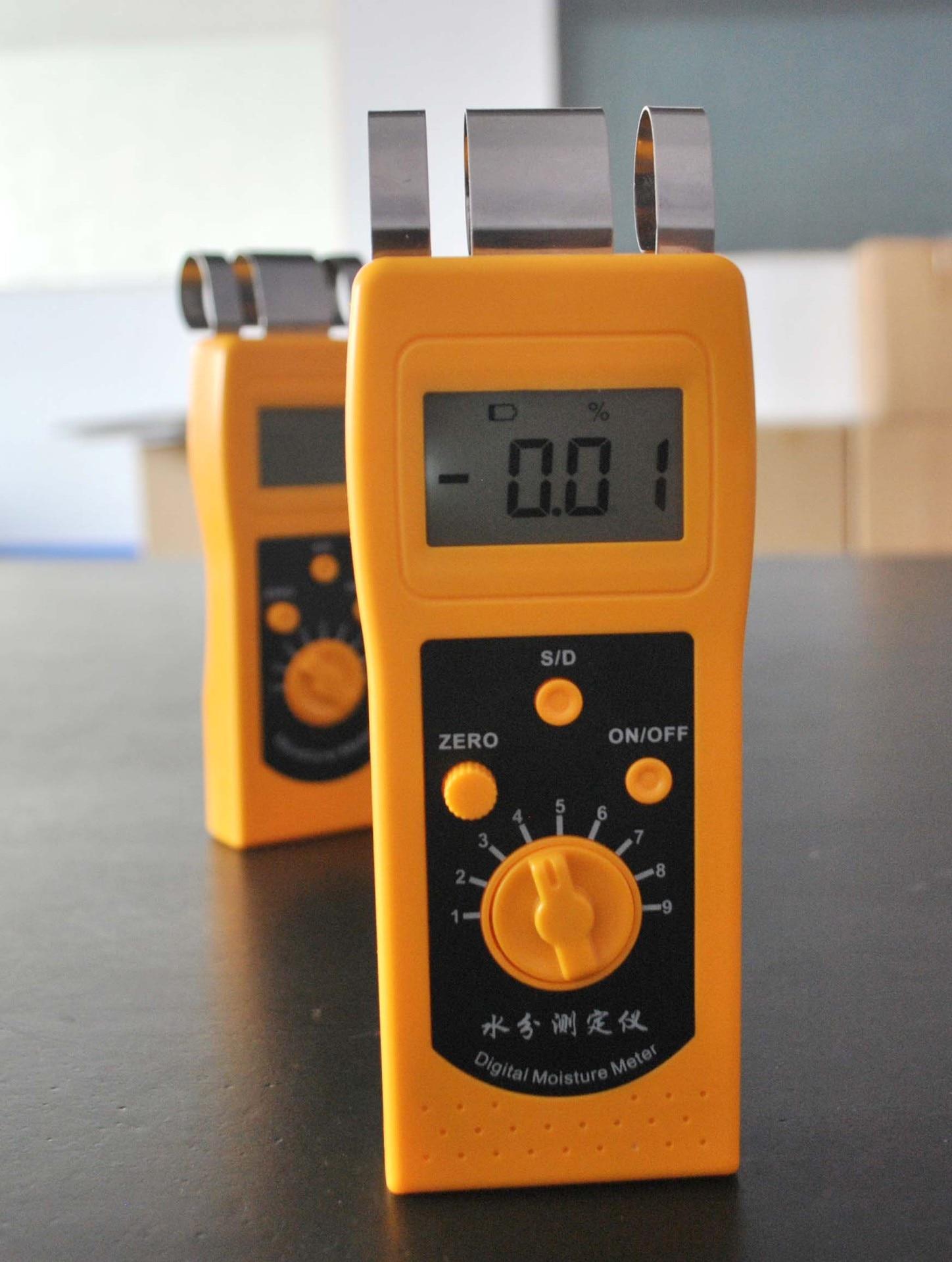 DM200T Cotton Yarn Moisture Meter Dacron Moisture Analyzer dm200t 0 50