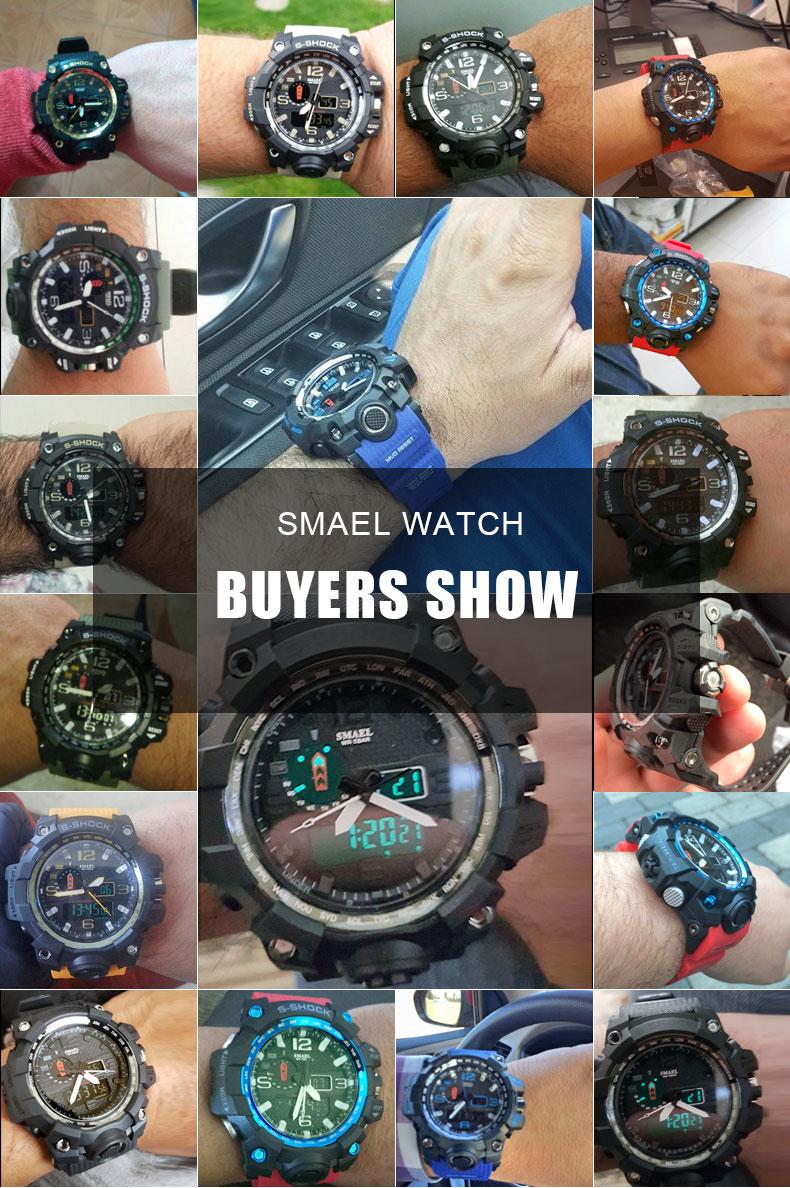 digital watch man water