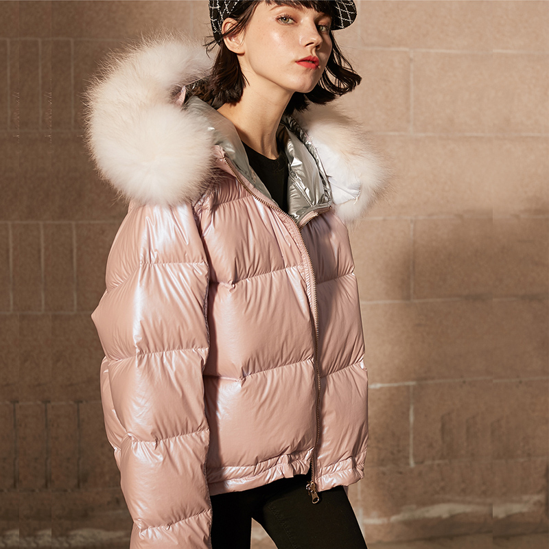 Jacket Female Down Real