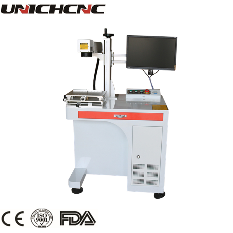 Chinese factory supplier cheap price aluminum engraving laser marking machine