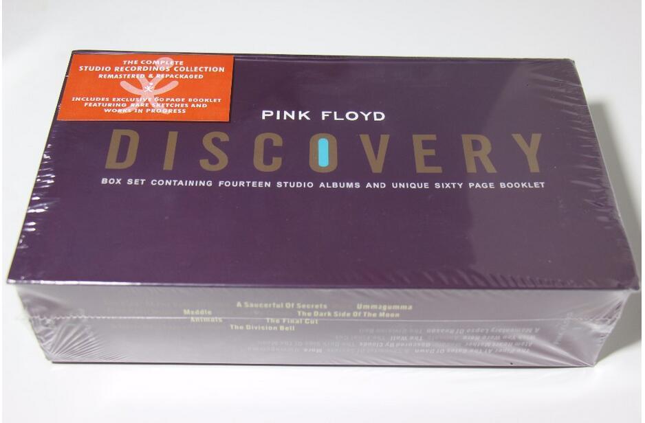 Prix pour La phase parfaite du produit; livraison Gratuite Pink Floyd Discovery CD 16 célibataires beau costume en boîte collection complète usine scellé limite