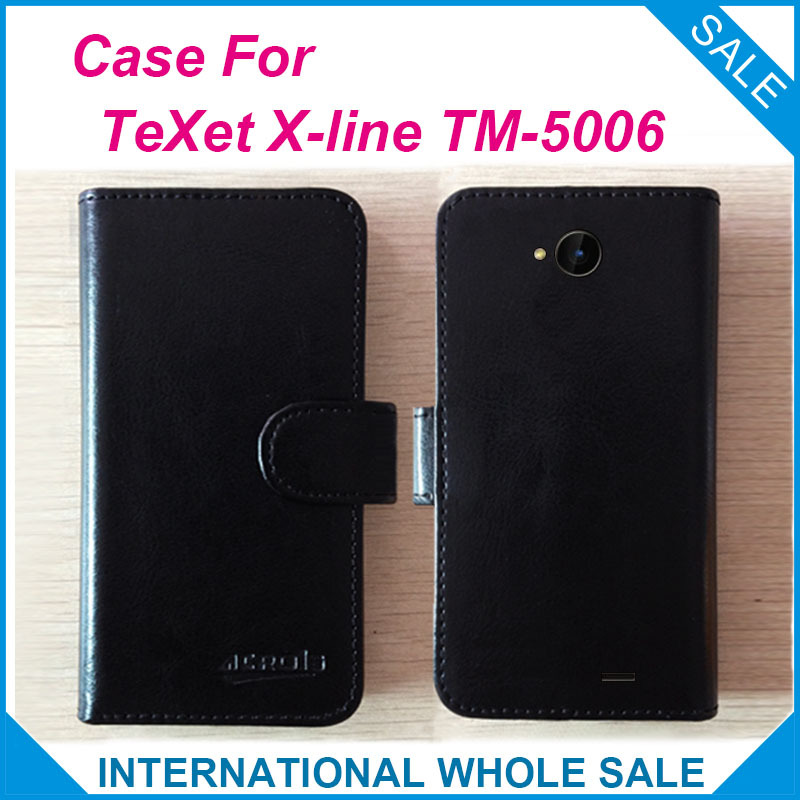 Home Texet X-line Tm-5006 Case Factory Price Flip Leather Original Case Exclusive Cover For Texet X-line Tm-5006 Case Tracking Number To Be Highly Praised And Appreciated By The Consuming Public