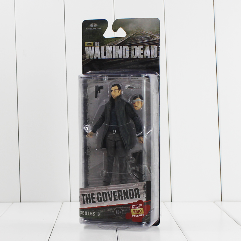 """5"""" 13cm NECA The Walking Dead The Governor Figure Toy AMC TV Series PVC Action Figurine Model Collectible Gifts for KIds"""