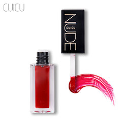 CUICU Matte Non-Stick Cup Lip Glair Liquid Lipstick Sexy Colors Lip Paint Matte Lipstick Waterproof Long Lasting Lips Gloss Tint