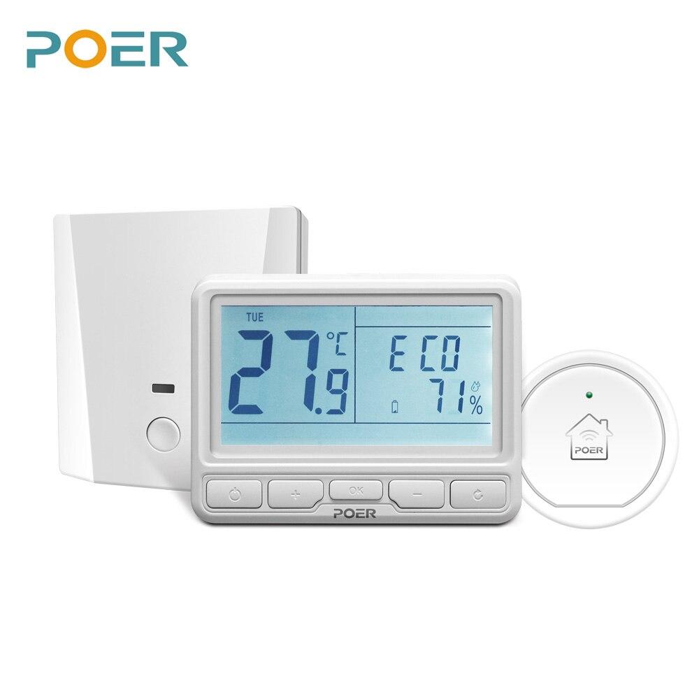Wireless camera remote Controller wifi digitale Termostato domestico Riscaldamento a Pavimento elettrico controller 16A corrente con gateway