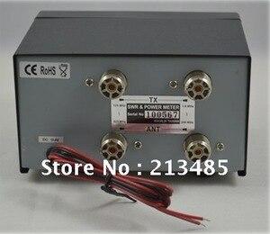 Image 4 - Nieuwe Originele TAIWAN NISSEI RX 503 SWR/Watt Meter 1.8 525 MHz 2/20/200 W voor twee weg Radio
