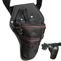 Portable Electrician Tool Waist Belt Pouch Bag Impact Driver Drill Holster