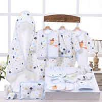 NEW Newborn Baby Clothes Soft Cotton Toddler Baby Boy Girl Clothes Set Infant Clothing New Born Gift Sets BJ092004