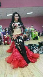 Image 3 - Восточный танец живота цыганский индийский танец костюм костюмы для танца живота одежда бюстгальтер ремень цепь кольцо шарф юбка платье комплект костюм