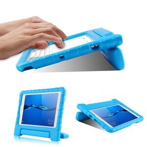 """Image 3 - Kind Tablet Stoßfest fall Für Huawei MediaPad M3 Lite 8 8,0 """"Silikon Abdeckung Für HUAWEI CPN L09 CPN AL00 W09 8 """"EVA Fall Abdeckung"""