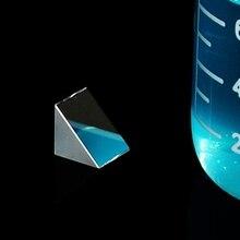 Neue Optische Glas Dreieckigen Prismen Rechtwinklig Isosceles Prismen Objektiv Optische K9 Glas Material Prüfung Instrument 10*10 * 10mm