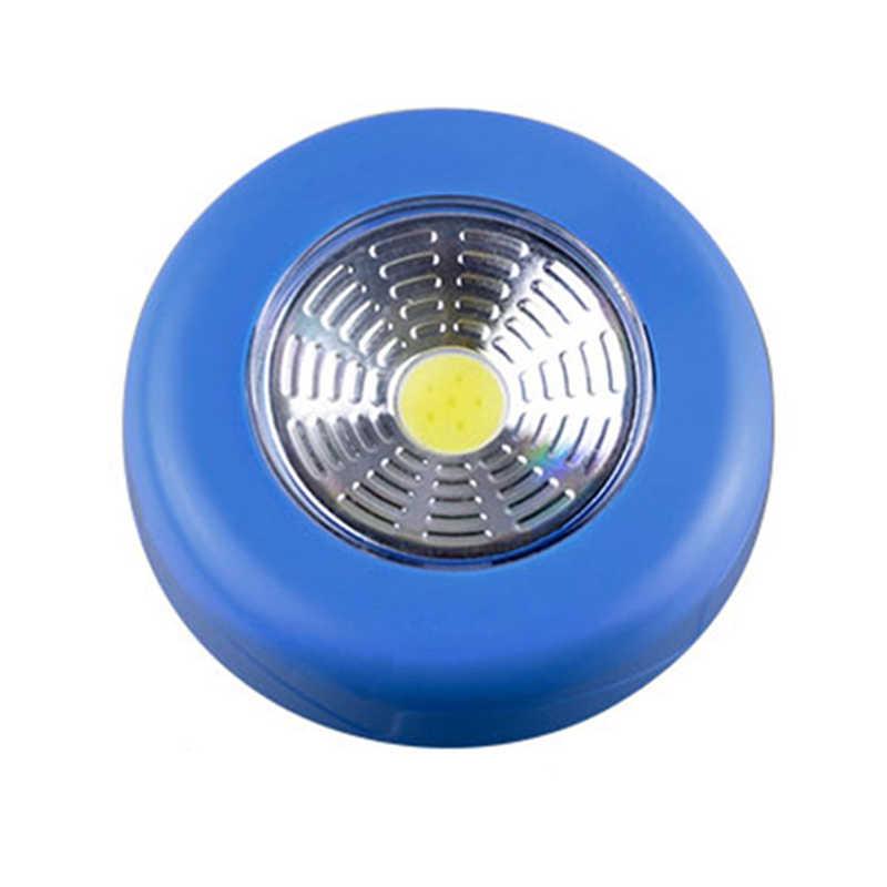 Современный светодиодный настенный светильник COB, 3 Вт, бра, кухонный шкаф, шкаф, толкающий кран, домашняя палка на лампе, Blub, лестницы, настенные светильники для ванной комнаты