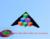 Envío de la alta calidad paso a paso kite con mango línea de la cometa ripstop tela kite kitesurf cerf volant paraguas
