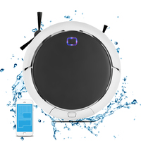 2018 NEWEST Smart Memory Navigation Mapping Smartphone App Control Technology Intelligent Robot Vacuum Cleaner QQ9