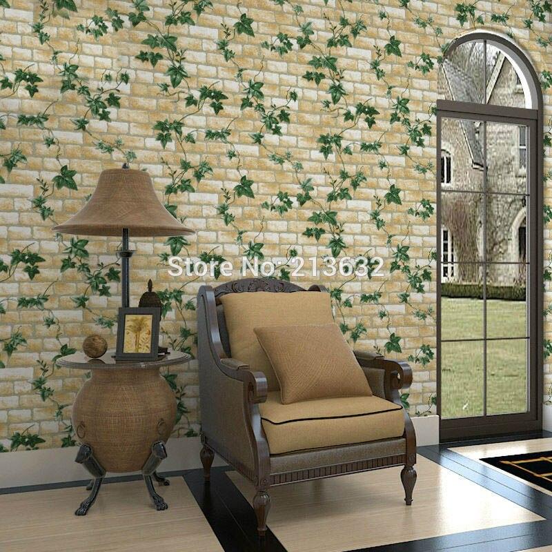 Us 258 13 Offzxqz 240 Bordir Pvc Percetakan Wall Sticker Wallpaper Home Decor Damask Wallpaper Dinding Kertas Roll Living Room Bedroom In Wall