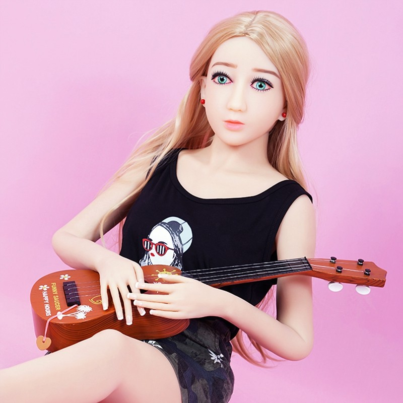 140cm Japanese Silicone Sex Dolls Skeleton TPE Realistic Full Size 3D Full Body Solid real Silicone love Dolls for men drop ship plastic standing human skeleton life size for horror hunted house halloween decoration