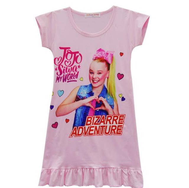 8bd9a85a33438 جديد أزياء الفتيات باس النوم عارضة فساتين الاطفال جوجو سيوة منامة قمصان  النوم الرئيسية الملابس ملابس