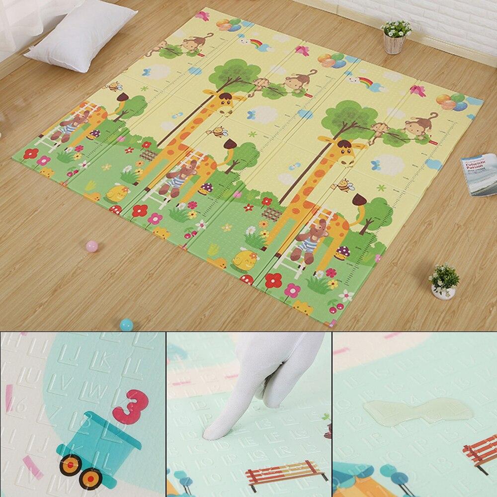 Tapis de jeu pour enfants tapis de Puzzle tapis dans la pépinière infantile enfants tapis de Gym tapis de jeu tapis de sol tapis de sécurité pour bébé jouets souples